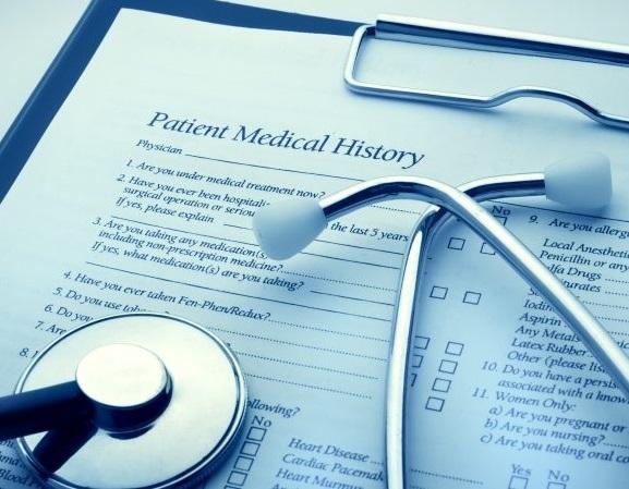 Reclamación de historial médico
